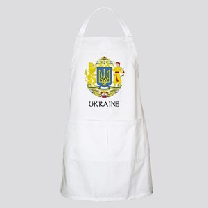 Ukraine Coat of Arms BBQ Apron
