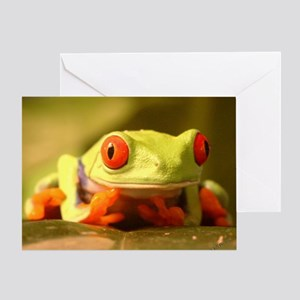 Kermit the frog greeting cards cafepress frog greeting card m4hsunfo