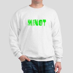 Minot Faded (Green) Sweatshirt