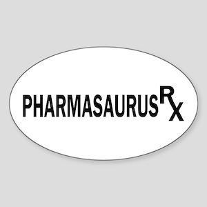 Pharm RX Oval Sticker