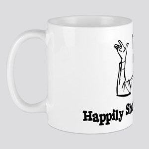 Happily Shooting Blanks Mug