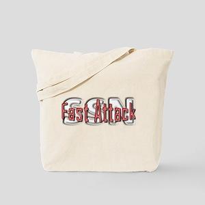 Fast Attack -- SSN Tote Bag