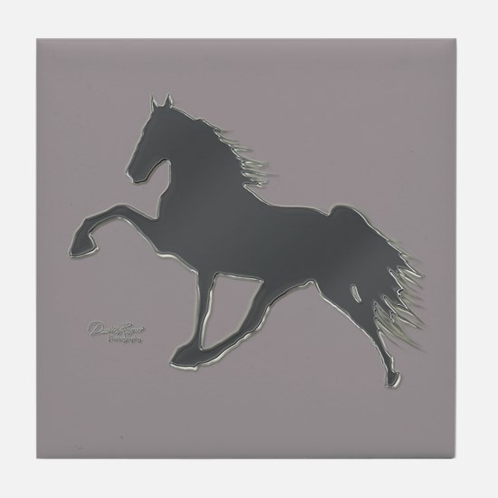 Walking Horse Tile Coaster