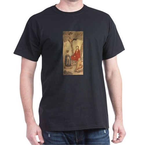 Confucius, Lao-tzu and Buddhist Arhat T-Shirt