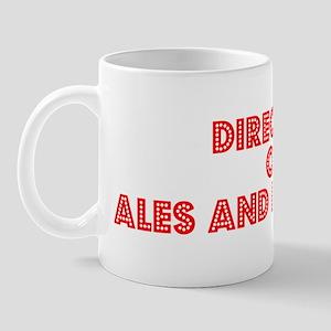 Retro Director of.. (Red) Mug