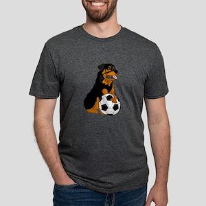 Funny Rottweiler Soccer T-Shirt