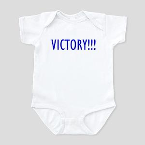"""Victory!!!"" Infant Bodysuit"