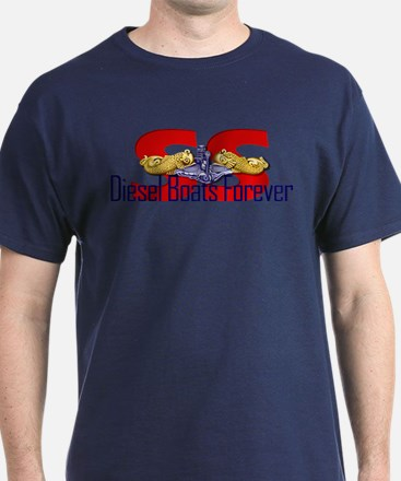 SS--Diesel Boats Forever T-Shirt