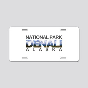 Denali - Alaska Aluminum License Plate