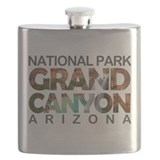 Grand canyon national park Flask Bottles