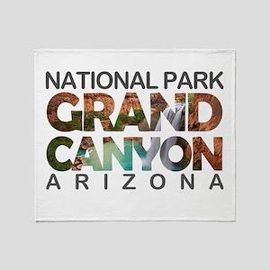 Grand Canyon - Arizona Throw Blanket
