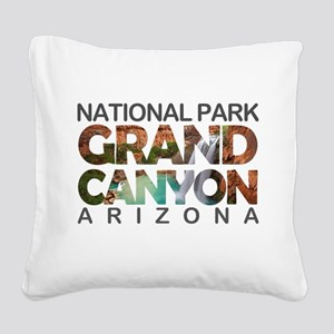 Grand Canyon - Arizona Square Canvas Pillow