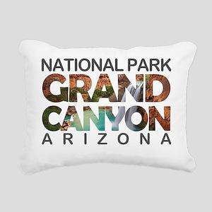 Grand Canyon - Arizona Rectangular Canvas Pillow