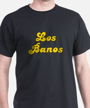 Retro Los Banos (Gold) T-Shirt
