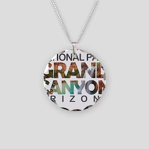 Grand Canyon - Arizona Necklace Circle Charm