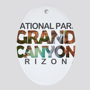 Grand Canyon - Arizona Oval Ornament