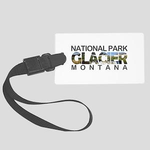 Glacier - Montana Large Luggage Tag