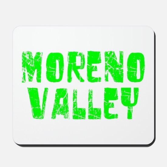 Moreno Valley Faded (Green) Mousepad