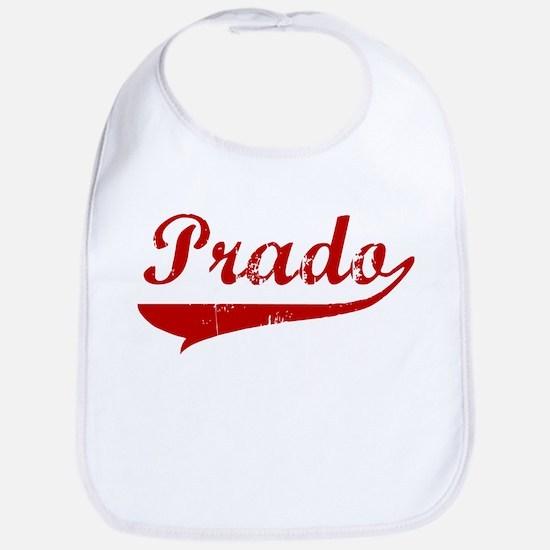 Prado (red vintage) Bib