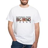 Big bend Mens Classic White T-Shirts