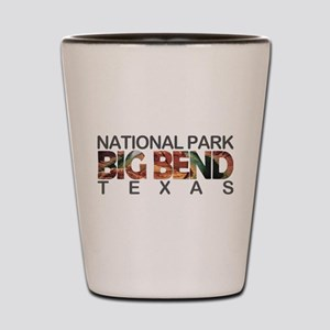 Big Bend - Texas Shot Glass