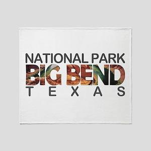 Big Bend - Texas Throw Blanket