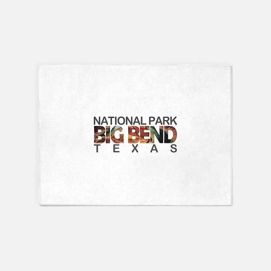 Big Bend - Texas 5'x7'Area Rug