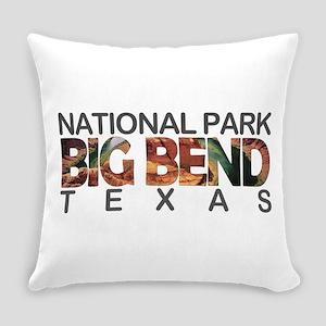 Big Bend - Texas Everyday Pillow