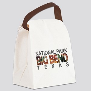 Big Bend - Texas Canvas Lunch Bag