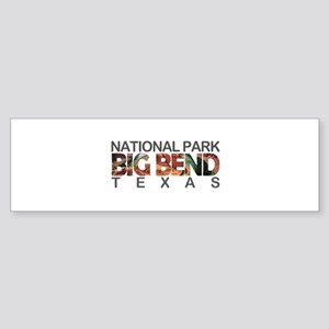 Big Bend - Texas Bumper Sticker