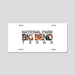Big Bend - Texas Aluminum License Plate