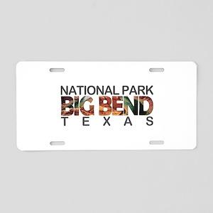 Big Bend - Texas Aluminum License Plate