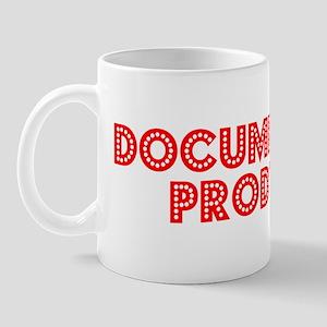 Retro Documentary.. (Red) Mug