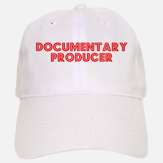 Retro Documentary.. (Red) Baseball Baseball Cap