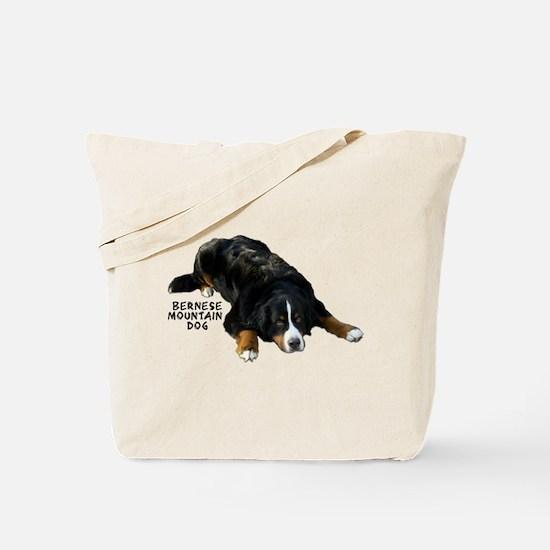 Bernese Rug Pose - Tote Bag