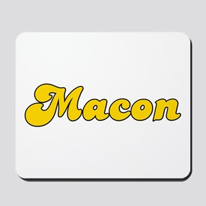 Retro Macon (Gold) Mousepad