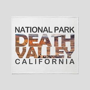 Death Valley - California, Nevada Throw Blanket