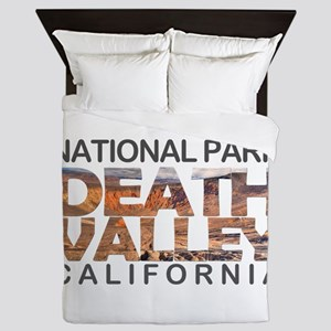 Death Valley - California, Nevada Queen Duvet