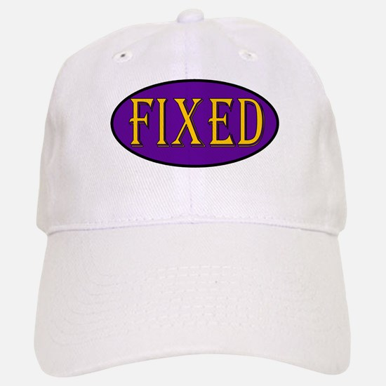 Fixed Baseball Baseball Cap