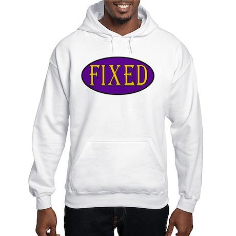 Fixed Hooded Sweatshirt
