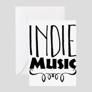 Indie Music Greeting Cards