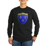 France Metallic Shield Long Sleeve T-Shirt