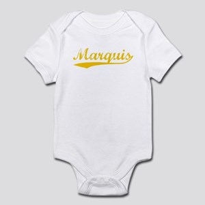 Vintage Marquis (Orange) Infant Bodysuit