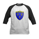 France Metallic Shield Baseball Jersey
