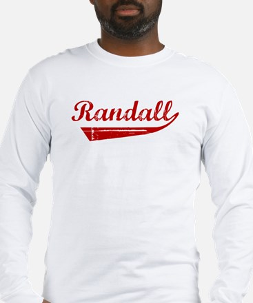 Randall (red vintage) Long Sleeve T-Shirt