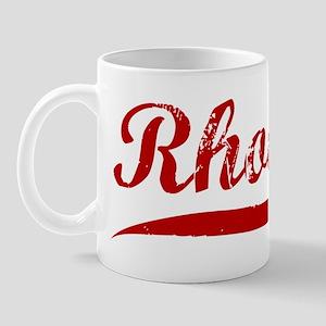 Rhodes (red vintage) Mug