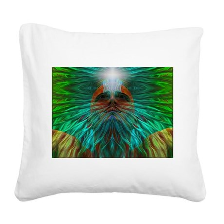 Clear light vision Square Canvas Pillow