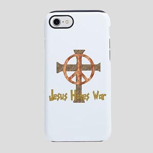 Jesus Hates War iPhone 8/7 Tough Case