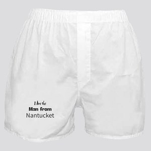 I Am the Man from Nantucket Boxer Shorts