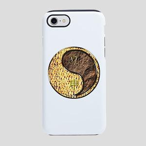 Leo & Earth Monkey iPhone 8/7 Tough Case